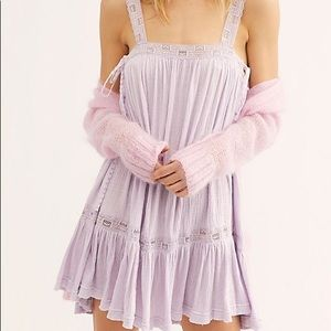 Nwt Free People Lilac Tunic Sweet Thing